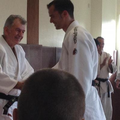 juin 2012 remise de la 8 ème ceinture noire du club